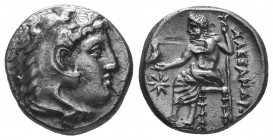 MACEDONIAN KINGDOM. Alexander III the Great (336-323 BC). AR Drachm Condition: Very Fine  Weight: 4.20 gr Diameter: 16 mm