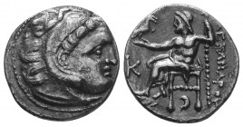 MACEDONIAN KINGDOM. Alexander III the Great (336-323 BC). AR Drachm  Condition: Very Fine  Weight: 3.90 gr Diameter: 18 mm