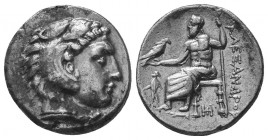 MACEDONIAN KINGDOM. Alexander III the Great (336-323 BC). AR Drachm  Condition: Very Fine  Weight: 4.30 gr Diameter: 18 mm