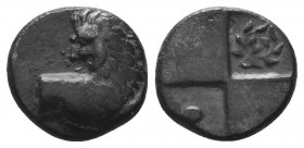 THRACE. Chersonesos. Hemidrachm (Circa 386-338 BC).  Condition: Very Fine  Weight: 2.20 gr Diameter: 12 mm