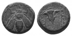Ionia, Ephesos Ae. Circa 202-150 BC.  Condition: Very Fine  Weight: 2.50 gr Diameter: 12 mm
