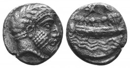 PHOENICIA, Arados. Uncertain king. Circa 370-346 BC. AR Shekel   Condition: Very Fine  Weight: 3.00 gr Diameter: 14 mm
