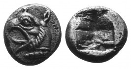 IONIA. Phokaia. Diobol (Circa 521-478 BC).