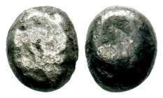 Archaic Coin Unidentified. Late 5th century BC.AR Silver