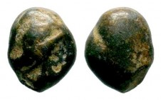 Very İnteresting Archaic Coin, Circa 475-460 BC.
