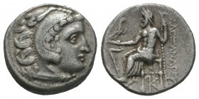 Alexander III the Great (336-323 BC). AR Drachm