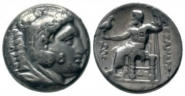 "Kings of Macedon. Alexander III ""the Great"" 336-323 BC.  Weight: 10,21 gr Diameter: 24,50 mm"