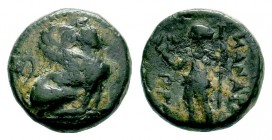 PAMPHYLIA. Perge. Ae (Circa 260-230 BC).  Weight: 3,81 gr Diameter: 15,40 mm