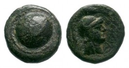PAMPHYLIA. Side. Ae (1st century BC).  Weight: 2,00 gr Diameter: 12,00 mm