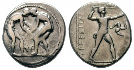 Aspendos , Pamphylia. AR Stater