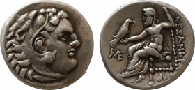 KINGS of MACEDON. Antigonos I Monophthalmos. As Strategos of Asia, (320-306/5 BC)BC. AR Drachm. In the name and types of Alexander III. Abydos mint. S...