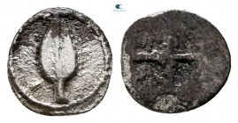 Kings of Macedon. Aigai. Alexander I 498-454 BC. Hemiobol AR