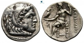 "Kings of Macedon. Miletos. Alexander III ""the Great"" 336-323 BC. Drachm AR"