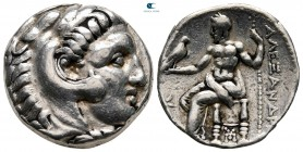 Kings of Macedon. Sardeis. Antigonos I Monophthalmos 320-301 BC. In the name and types of Alexander III. Struck circa 318-315 BC. Tetradrachm AR