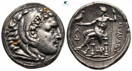 Kings of Macedon. Amphipolis. Kassander 306-297 BC. In the name and types of Alexander III. Tetradrachm AR