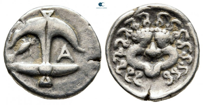 Thrace. Apollonia Pontica 480-450 BC. 