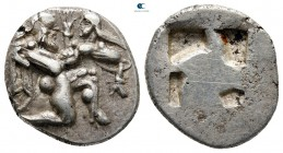 Islands off Thrace. Thasos circa 525-463 BC. Drachm AR