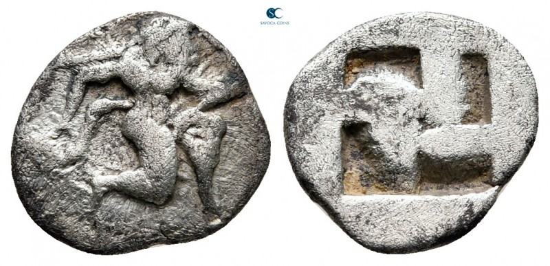 Islands off Thrace. Thasos circa 500-480 BC. 