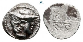 Thraco-Macedonian Region. Uncertain mint circa 450-400 BC. Hemiobol AR