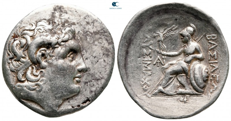 Kings of Thrace. Uncertain mint in Western Asia Minor. Macedonian. Lysimachos 30...