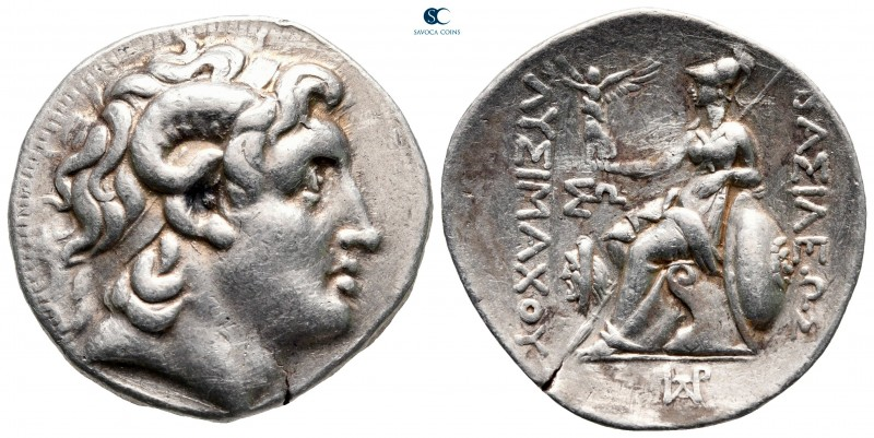Kings of Thrace. Uncertain mint, possibly Amphipolis. Macedonian. Lysimachos 305...