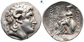 Kings of Thrace. Uncertain mint, possibly Amphipolis. Macedonian. Lysimachos 305-281 BC. Tetradrachm AR