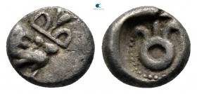 Asia Minor. Uncertain mint circa 480-450 BC. Hemiobol AR
