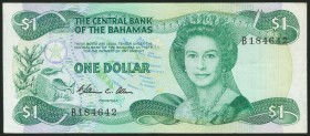BAHAMAS. 1 Dollar. 1974. (Pick: 43a). Very fine.
