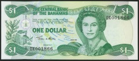 BAHAMAS. 1 Dollar. 2002. (Pick: 70). Uncirculated.