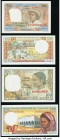 Comoros and Madagascar Group Lot of 7 Examples About Uncirculated-Crisp Uncirculated. Possible trimming is evident.  HID09801242017  © 2020 Heritage A...
