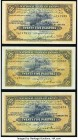 Egypt National Bank of Egypt 25 Piastres 1949; 1950 (2) Pick 10d Three Examples Very Fine; Extremely Fine; About Uncirculated.   HID09801242017  © 202...