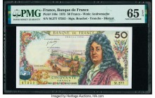 France Banque de France 50 Francs 2.10.1975 Pick 148e PMG Gem Uncirculated 65 EPQ.   HID09801242017  © 2020 Heritage Auctions | All Rights Reserved