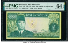 Indonesia Bank Indonesia 1000 Rupiah 1960 (ND 1964) Pick 88b PMG Choice Uncirculated 64 EPQ.   HID09801242017  © 2020 Heritage Auctions | All Rights R...