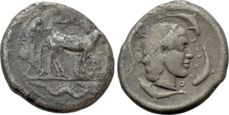 SICILY. Syracuse. Second Democracy (466-460 BC). Tetradrachm. 