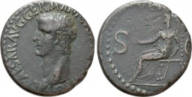 CALIGULA (37-41). As. Rome