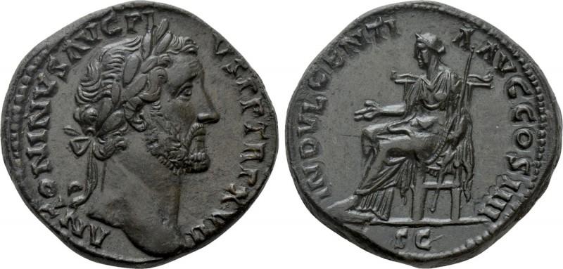 ANTONINUS PIUS (138-161). Sestertius. Rome.    Obv: ANTONINVS AVG PIVS P P TR P ...