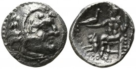Central Europe. Uncertain circa 300-200 BC. Drachm AR