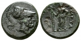 Lucania. Metapontion circa 225-200 BC. Bronze Æ