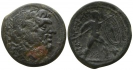 Bruttium. The Brettii circa 211-208 BC. Unit Æ