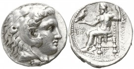 Kings of Macedon. Babylon. Antigonos I Monophthalmos 320-301 BC. In the name and types of Alexander III.. Tetradrachm AR