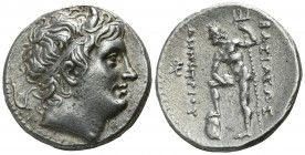 Kings of Macedon. Pella. Demetrios I Poliorketes 306-283 BC. Tetradrachm AR