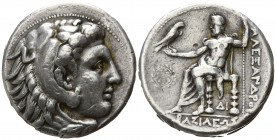 "Kings of Macedon. Side. Alexander III ""the Great"" 336-323 BC. Tetradrachm AR"