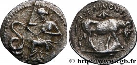 SICILY - SELINUS Type : Litra  Date : c 417-409 AC.  Mint name / Town : Sélinonte  Metal : silver  Diameter : 12  mm Orientation dies : 6  h. Weight :...