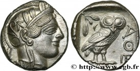 ATTICA - ATHENS Type : Tétradrachme  Date : c. 430 AC.  Mint name / Town : Athènes  Metal : silver  Diameter : 25,5  mm Orientation dies : 6  h. Weigh...