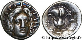 CARIA - CARIAN ISLANDS - RHODES Type : Didrachme  Date : c. 250 AC.  Mint name / Town : Rhodes, Carie  Metal : silver  Diameter : 19,5  mm Orientation...