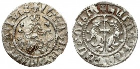 Armenia 1 Tram Levon I (1198-1219) Averse.: Levon seated facing on throne decorated with lions. holding cross and lis; with feet resting upon footstoo...