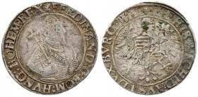 Austria 1 Thaler ND (1521-1564) Vienna. Ferdinand I Archduke of Austria (1521-1564) Averse: Crowned ½ figure right. Reverse: Crowned eagle with arms o...