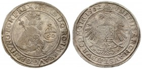 Austria 60 Kreuzer 1562 Ferdinand I(1558-1564). (Joachimstal) mint. Dated 1562. Averse: Crowned and armored half-length bust right; holding scepter an...