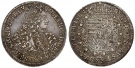 Austria 1 Thaler 1710 Hall. Joseph I (1704-11). Averse: Laureate bust right in inner circle. Averse Legend: IOSEPHUS • D: G: ROM: IMP: SE: AV: G: HV: ...