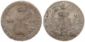 Austria Austrian Netherlands 1 Thaler 1775(b) Maria Theresia(1740-1780). Averse: 4 crowns in the angles of a floriated St. Andrew's cross. Averse Lege...
